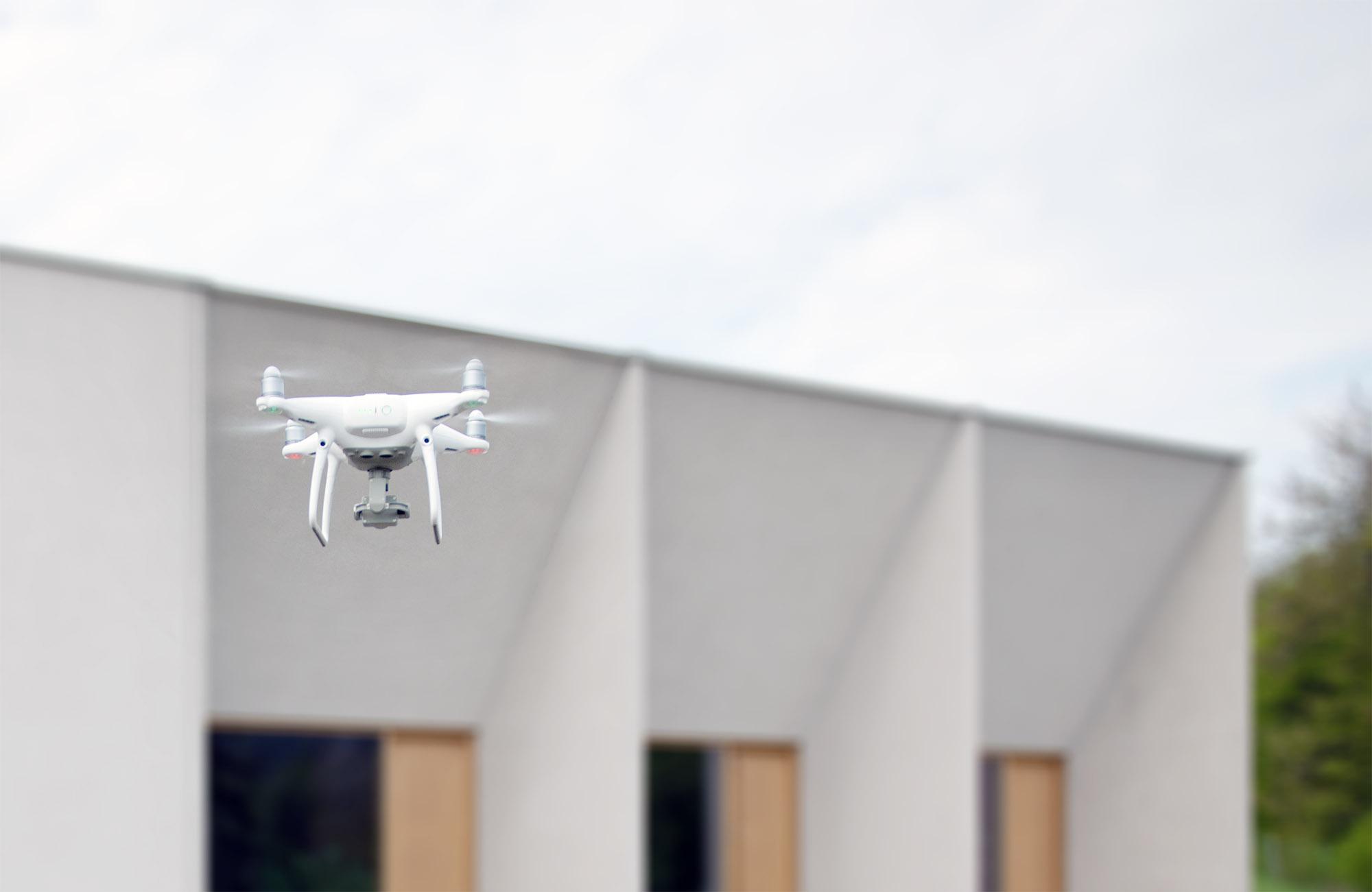 Drohnenaufnahmen.